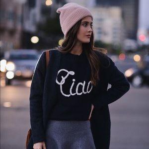 "Wildfox ""Ciao Bella"" Sweater"